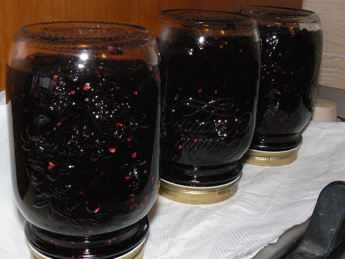 marmellata di gelsi neri