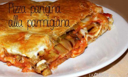 Pizza parigina alla parmigiana