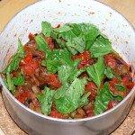 Peperoni ripieni di pasta Sugo e melanzane