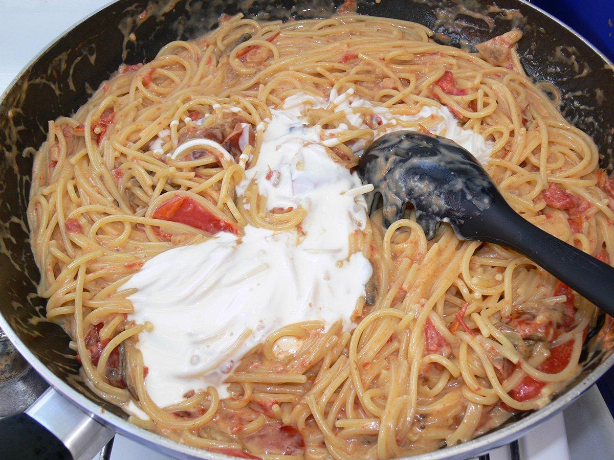 ricetta Bucatini con verdure