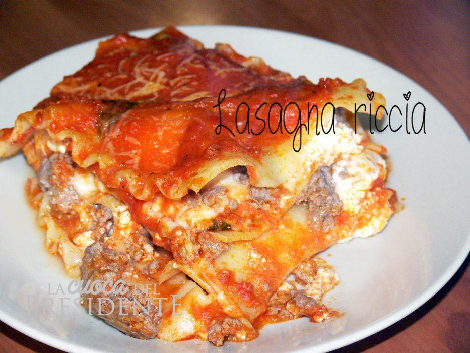 Lasagna riccia