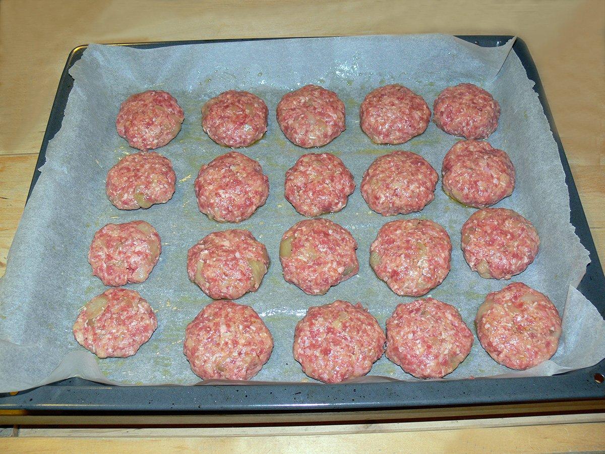 Polpette con carne e melanzane
