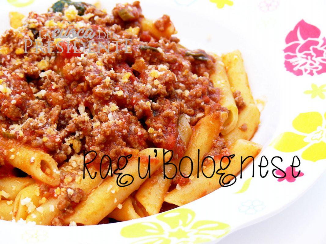 Pasta con Ragù alla Bolognese