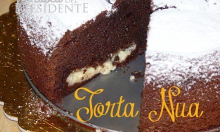 Torta Nua al cioccolato con crema
