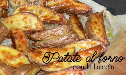 Patate al forno croccantissime