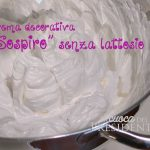 Crema decorativa Sospiro senza lattosio