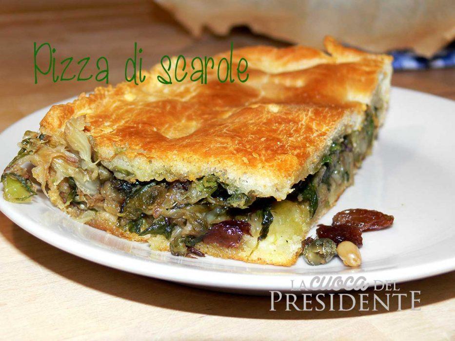 Pizza di scarola napoletana ricetta furba