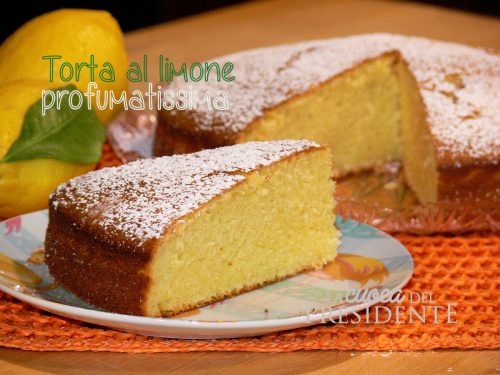 Torta al Limone Profumaissima