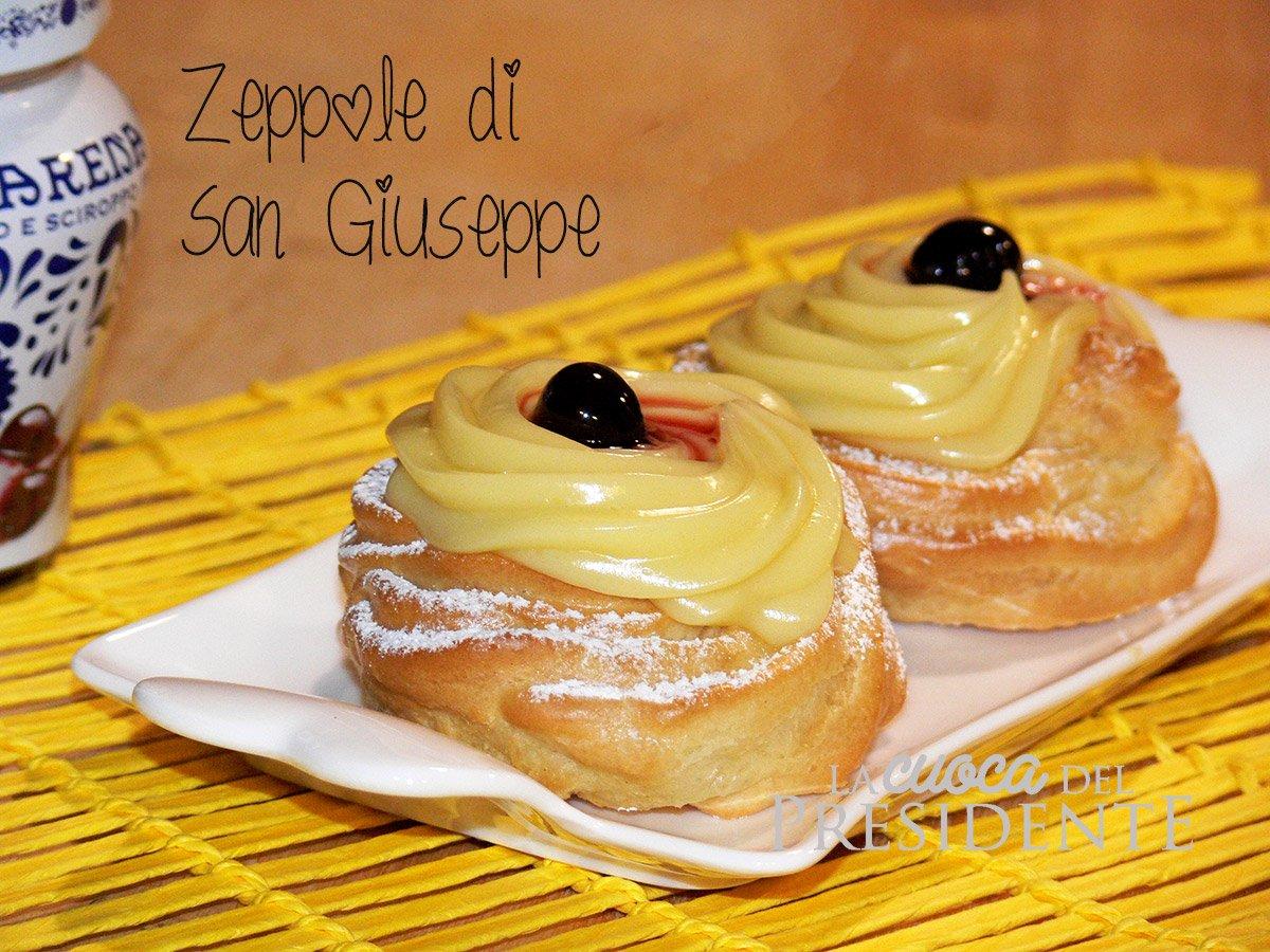 Ricetta Zeppole A Forno.Zeppole Di San Giuseppe Al Forno Bimby
