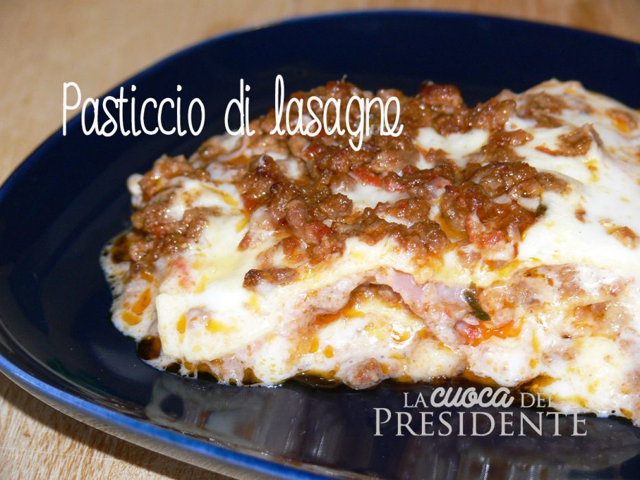 Pasticcio di lasagne