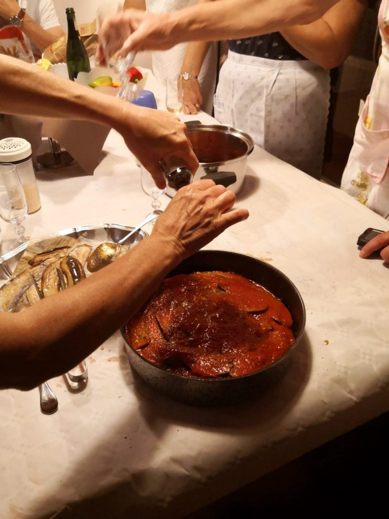 Lezioni di cucina - Cooking Classes parmigiana