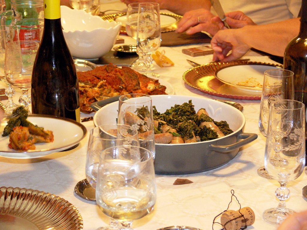 Lezioni di cucina - Cooking Classes a tavola