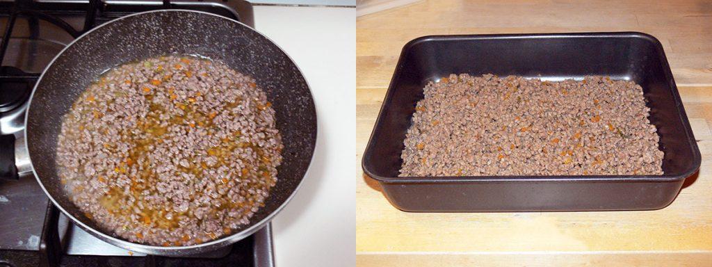 Pasticcio di carne con purè