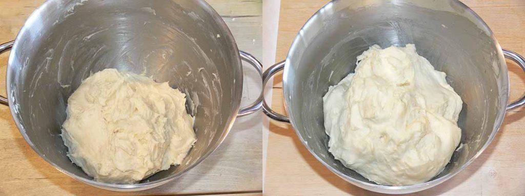 impasto brioche col tuppo senza glutine con farine naturali