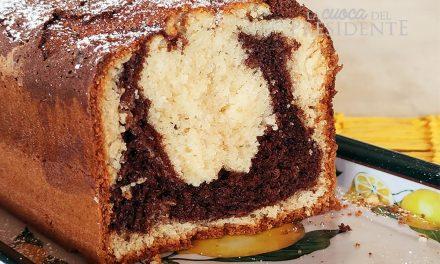 Plum Cake variegato senza glutine con farine naturali
