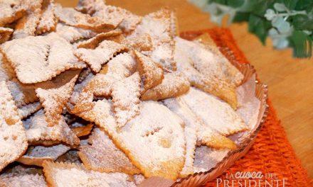 Chiacchiere di carnevale senza glutine